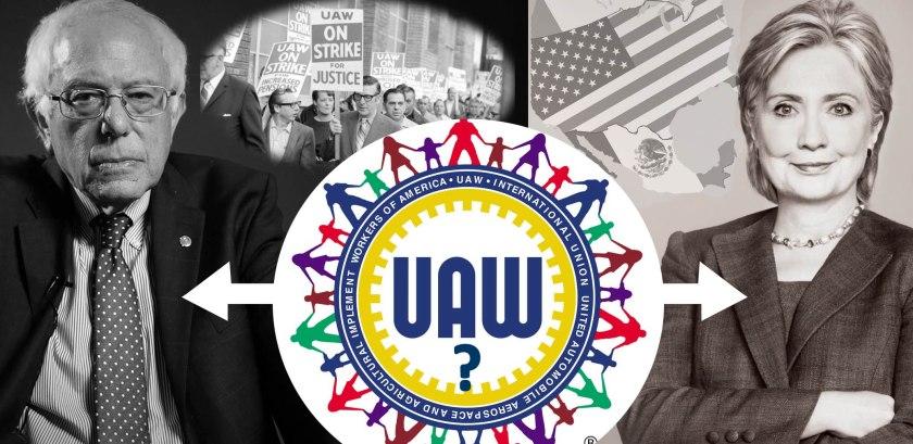 Clinton-Sanders-UAW